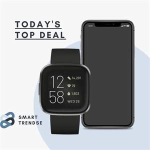Smartwatch Fitbit Versa 2 Health and Fitness  with pulse,