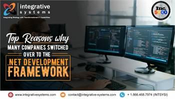 Best .Net framework development company, Illinois