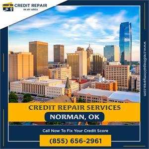 Hire Credit Repair company in Norman to fix your credit