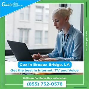 Cox Fastest Internet Provider in Breaux Bridge