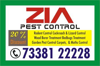 Banaswadi Zia Pest Control 7338122228 | Cockroach and Bed Bug Service | 1395 |