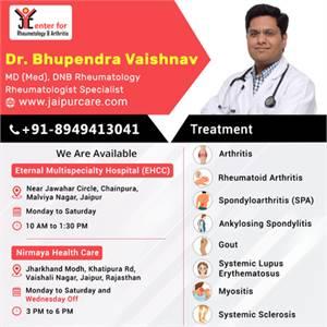 DR. BHUPENDRA VAISHNAV AN EXPERIENCED RHEUMATOLOGIST IN JAIPUR