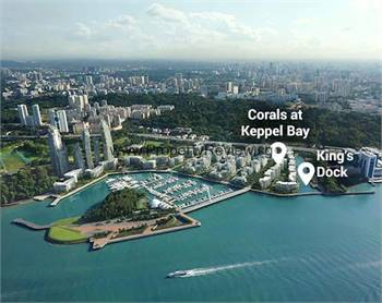 The Reef At King's Dock New Condo @ Harbourfront Avenue Singapore