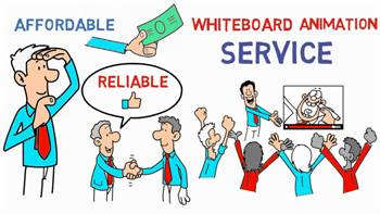 """Whiteboard Explainers videos """"advertise your business with a short video ad"""""""