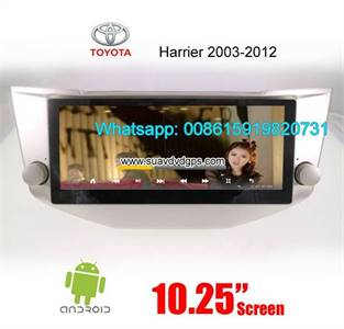 Toyota Harrier Radio Car Android wifi GPS Camera Navigation