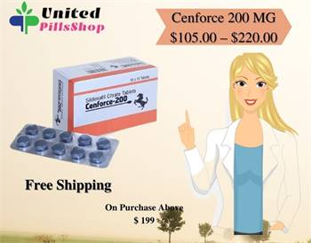 How Do Cenforce 200 Tablets Treat Erectile Dysfunction?