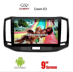 Chery Cowin E3 C3R Car Audio Radio Android GPS Navigation Camera