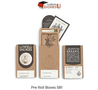 Custom Printed Personalized Branded Pre roll packaging box