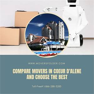 Compare Movers in Coeur d'Alene and Choose the Best