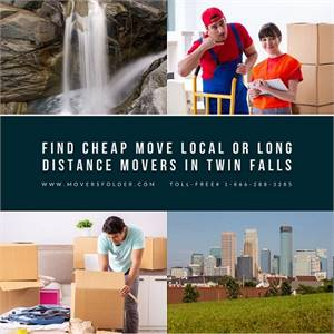 Find Cheap Move Local or Long Distance Movers in Twin Falls