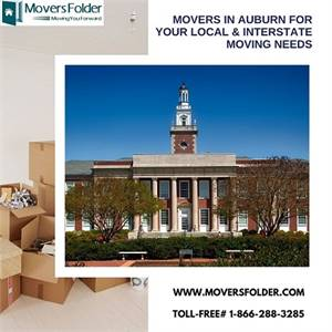 Movers in Auburn For your Local & Interstate Moving Needs