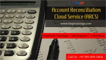 Oracle Account Reconciliation Cloud Service (ARCS) Training