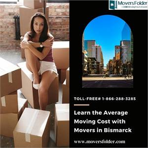 Learn the Average Moving Cost with Movers in Bismarck