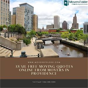 Avail FREE Moving Quotes Online from Movers in Providence