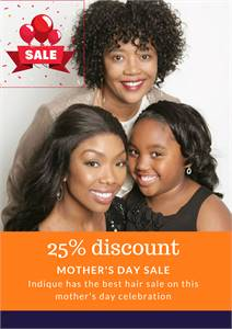 Mother's Day Sale Indique Hair