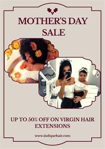 Mother's Day Virgin Hair Sale