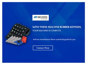Certified Silicone Keypad Manufacturers - Melrose Systems