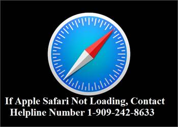 If Apple Safari Not Loading, Contact Helpline Number 1-909-242-8633