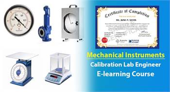 Certified Calibration Laboratory Engineer - Mechanical