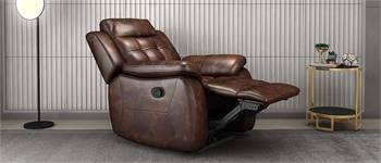 Nappa Aire Recliner, 1 Seater