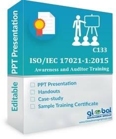 Online ISO 17021-1 Internal Auditor Training PPT Kit
