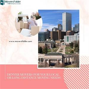 Denver Movers for your Local or Long Distance Moving Needs