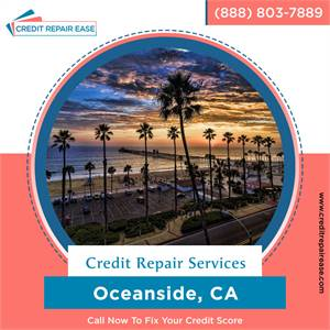 How to fix your credit in Oceanside without the hard work