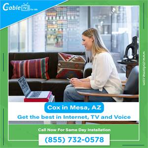 Cox Internet is Top Rated in Mesa, AZ