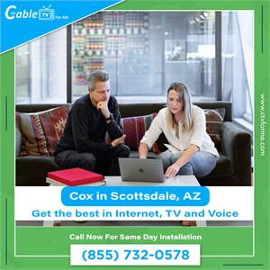 Cox is the Best Provider for you in Scottsdale, AZ