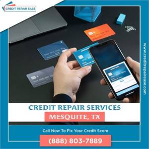 Saving money on debt with credit repair in Mesquite