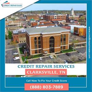How to fix your credit in Clarksville without the hard work