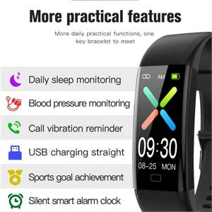 Smart watch Fitness Trackers Heart Rate Monitor iPhone Xiaom