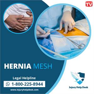 HERNIA MESH FAILURES GENERATE RECALLS, LAWSUITS