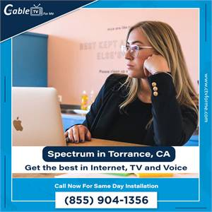 Get the Charter Spectrum Triple Play in Torrance, CA