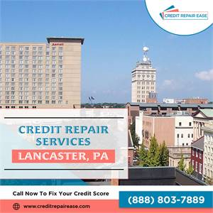 Rebuild your credit score in Lancaster