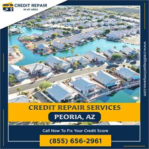 Repair Errors and Get a Better Score With Our Free Service in Peoria, AZ