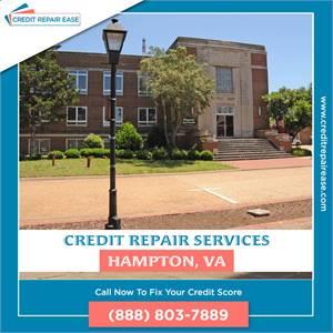 Free Credit Repair Services in Hampton, VA in Quick Time
