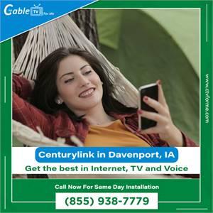 Get authorize Centurylink Internet in Davenport