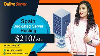 High-tech Services of Spain Dedicated Server Hosting from Onlive Server