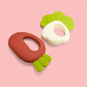 Manufacturer for Legenday Bpa Free Safe Silicone Teether Toy Soft Vegetable Baby Teether Organic