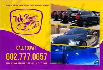 WeShine Detailing services