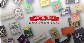 Woven Labels   Custom Woven Labels   All Clothing Labels   Austin Trim