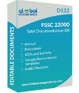 FSSC 22000 (Version-5.1) Certification Documentation.