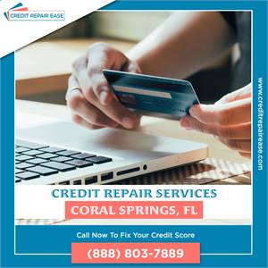 Improve Your Credit in Coral Springs,FL