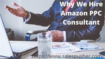 Why We Hire Amazon PPC Consultant