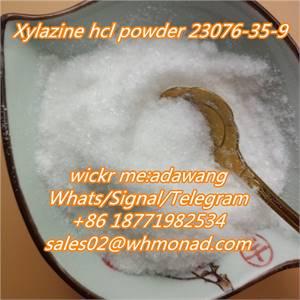 xylazine powder to usa cas 23076-35-9 Xylazine hcl/hydrochloride local anesthesia