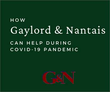 How Gaylord & Nantais Can Help During COVID-19 Pandemic