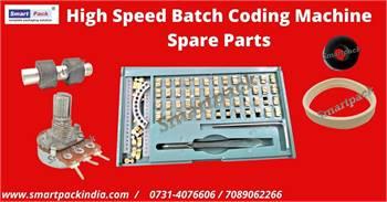 High Speed Batch Coding Machine Spare Parts