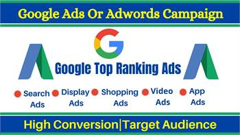 I will setup and optimize google ads or adwords campaign for high conversion